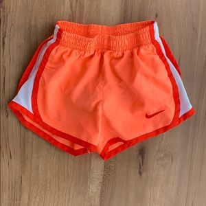 Hot Orange Nike Running Shorts - 3T